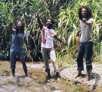 The  Cedric Myton and the Congos group shot